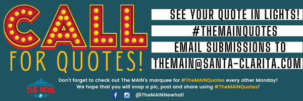 #TheMAINquotes: CALL For Quotes!